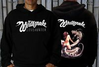 WHITESNAKE-Lovehunter-Hard rock, Blues rock-Scorpions, Hoodie-sizes:S to XXL