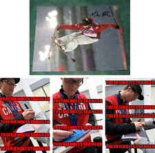 """MIKE RIDDLE signed """"2014 SOCHI OLYMPICS"""" Photo - PROOF (B) - SILVER Ski Halfpipe"""
