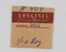 Longines Genuine Material Part #409/1154 Rivet for Rotary Wgt. Spring for 22A