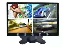 "9"" Touching Button HD 4 Split Quad 4 Video Input TFT LCD Car Rear View Monitor"