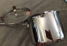 All-Clad Emeril Copper-Core 3QT Quart Sauce Pan / Pot & Lid   Stainless Steel