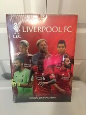 New Liverpool FC 2019 Official Calendar Sealed