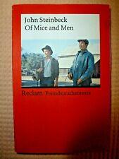 John Steineck: Of Mice and Men                -englisch-