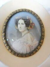 Bella, vecchio Miniatura, Ritratto: Auguste Strobl, Ritratto IN Miniatura