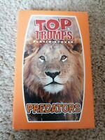 McDonald's Top Trumps Predators Game Happy Meal Toy Play & Discover New