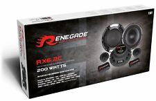 Renegade RX6.2C 200 Watt PKW Lautsprecher Set Auto Boxen 165mm Kicker Hochtöner