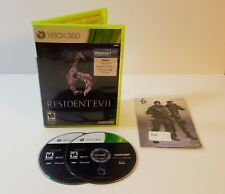 Resident Evil 6 (Microsoft Xbox 360, 2012) walmart exclusive with decals