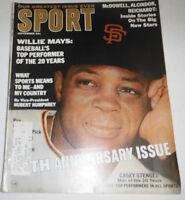 Sport Magazine Willie Mays & Casey Stengel September 1966 072814R
