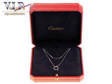 Cartier LOVE Collier Collana & CIONDOLO 18k/750 WHITE Oro & DIAMONDS NECKLACE