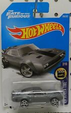 DODGE BOYS ICE CHARGER FAST FURIOUS MOPAR CHARGER GREY MOVIE 266 HW HOT WHEELS