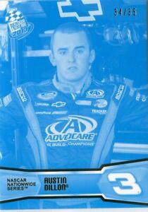 2013 Press Pass Racing cyan parallel /35 #49 Austin Dillon