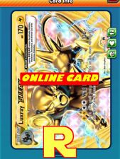 Luxray BREAK Playset (4x) for Pokemon TCG Online ( ptcgo in Game Card)