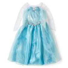 Official Disney Frozen Princess Elsa Halloween Custome kids girls