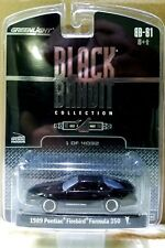 Greenlight BLACK BANDIT Series 1 1989 Pontiac Firebird Formula 350 T Tops VHTF