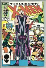 UNCANNY X-MEN #200 DIRECT COPY 1985 CHRIS CLAREMONT! MAGNETO & MYSTIQUE APP! VF-