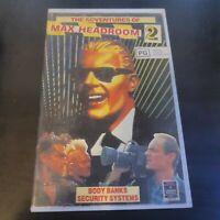 MAX HEADROOM 2 -- VHS -- Big Box EX-RENTAL EXCELLENT CONDITION