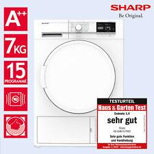 Wäschetrockner Trockner Wärmepumpentrockner A++ Sharp KD-GHB7S7PW2-DE 7kg
