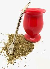 Mate Thermic -- Bombilla -  - MADE IN ARGETINA + Free mate bag tea sample