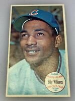 1964 Topps Giant Baseball Card # 52 Billy Williams Chicago Cubs HOF