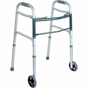 BodyMed  Walker, 2-Button, Folding Walker for Seniors
