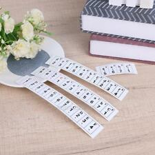 61 Keys Transparent Key Note Stickers for Piano keyboard Electronic Keyboard