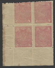 Afghanistan #217 1921 10pa rose MNH block of 4