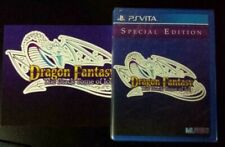 Dragon Fantasy Black Tome Of Ice Limited Run Games Brand New Sealed US PS VITA