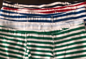 Hanna Andersson Boy Unders lot of 5 Large Boxer Briefs Underwear STRIPE 140