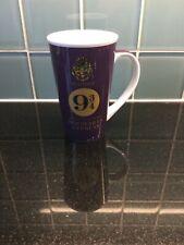 Harry Potter Original Purple Platform 9 3/4 Hogwarts Express Large Mug Exc Cond