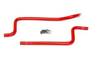 HPS Red Silicone Heater Hose Kit for Jeep 97-01 Wrangler TJ 4.0L Left Hand Drive