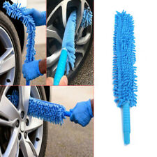Long Soft Flexible Microfiber Cleaning Brush Car Wash Tool Wheel Cleaner zh
