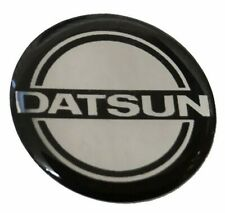 Datsun Chrome 28mm Badge - Steering Wheel or Gearknob - 120Y 100A 240Z 260X 280Z