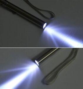 mini LED USB Wiederaufladbare Stift Taschenlampe Edelstahl Licht