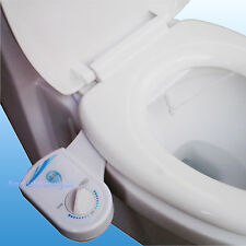 Fresh Cold Water Spray Non-Electric Mechanical Bidet Toilet Seat Attachment