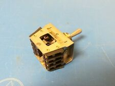 Micro Switch 22At1-T, (On)-Off-(On) Momentary Mil Spec 4 Way New Old Stock