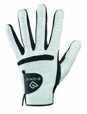 NEW Bionic Mens RelaxGrip Left Hand Golf Glove White Black Medium Large