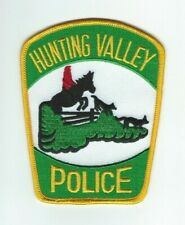 OHIO - Hunting Valley Police patch