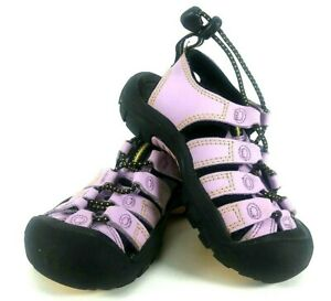 KEEN Sport Sandal Toddler Girls Size 10 1012829 Purple Black