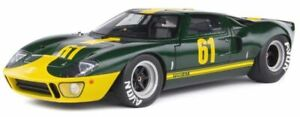 FORD GT40 Mk I Jim Clark Racing green & yellow number 61 1:18th SOLIDO 1803004