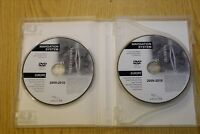 GENUINE JAGUAR XF XK SAT NAV NAVIGATION DISC 2 DVD SET EUROPE 2010 MAPS
