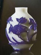 Beautiful Antique Chinese Late Qing Dynasty Snuff Bottle from the Lizzadro Coll