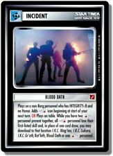 Star Trek Ccg Blaze of Glory Blood Oath