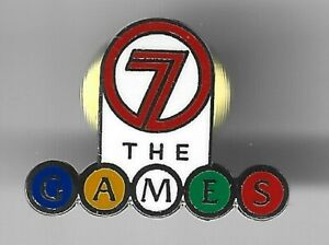 2000 Channel 7 Sydney Olympic Pin Press Media The Games 1