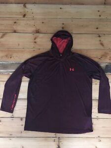 UNDER ARMOUR Mens Outdoor Hiking/Running Top - Designer Active Sportswear - XXL