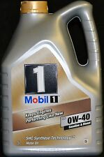 5 Liter Mobil1 FS ( New Life ) 0W40 Motoröl Mobil 1 0W-40 Porsche VW BMW Fiat
