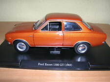 Atlas FABBRI FORD ESCORT 1300gt/1300 GT Marrone anno di costruzione modello 1969 1:24