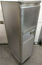 Chrome Carbon Fibre Aircraft Galley Catering Service Trolley Half Cart 7 Drawers