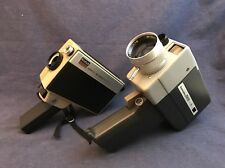 Vintage Film CAMERAS Kodak Hawkeye Instamatic Model B & Korvette Super 8 ZE 201
