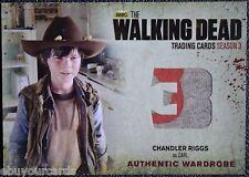 Cryptozoic Walking Dead Season 3 M10 RED COLOR VARIANT RARE Carl Trading Card