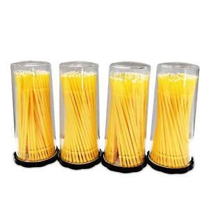 400 Microbrush Micro Brush Applicator Tips (Regular, Fine, Super Fine) Dental